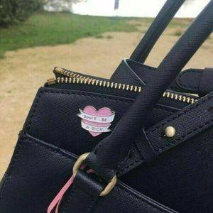 3 for $15 NWOT Enamel Brooch Sweet Pink Pin Heart